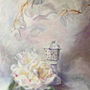 Study In White Art Print