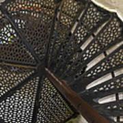 Sturgeon Point Lighthouse Spiral Staircase Art Print
