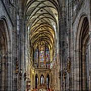 St.vitus Cathedral Art Print