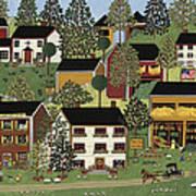 Summer Hills Art Print