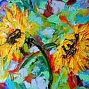 Sunflower Joy Art Print