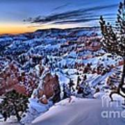 Sunrise At Bryce Art Print