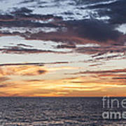Sunrise Over The Sea Of Cortez Art Print