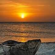 Sunset In Zanzibar - Kendwa Beach Art Print