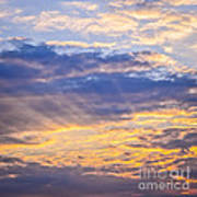Sunset Sky Art Print by Elena Elisseeva