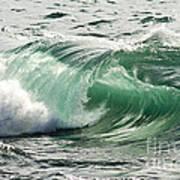 Surf Zone At The Barents Sea Coast Art Print