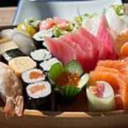 Sushi And Sashimi Art Print