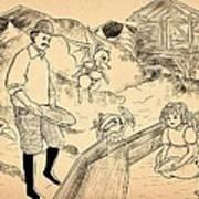 Sutter's Mill Art Print