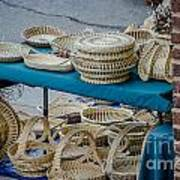 Charleston Sweet Grass Baskets Art Print