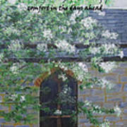 Sympathy Card With Church Art Print