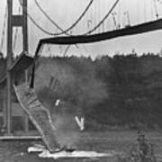 Tacoma Narrows Bridge Collapse Art Print