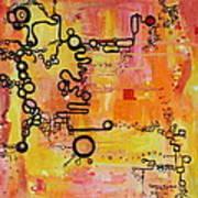 Tadpole Diagrams At Play Art Print
