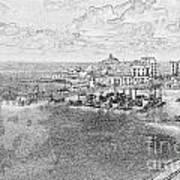 Tenby Harbor Art Print