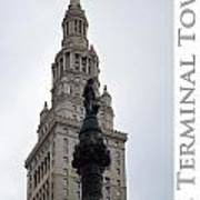 Terminal Tower Art Print
