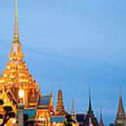Thai Construction Design. Print by Vachiraphan Phangphan