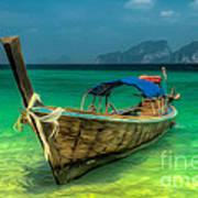 Thai Longboat Art Print