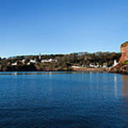 Thatched Cottages, Dunmore Strand Art Print