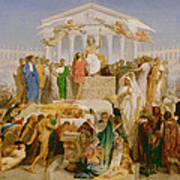 The Age Of Augustus The Birth Of Christ Art Print