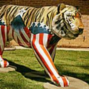 The Auburn Tiger Art Print