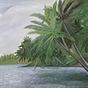 The Backwaters Art Print