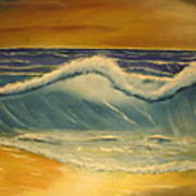 The Big Wave Art Print