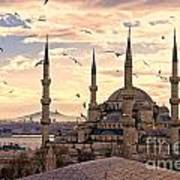 The Blue Mosque - Istanbul Art Print