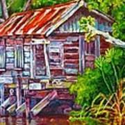The Camp Bayou Art Print