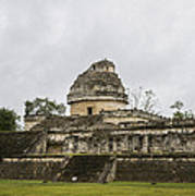 The Castillo In Chichen Itza Art Print