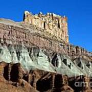 The Castle Capitol Reef National Park Utah Art Print
