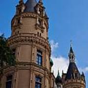 The Castle Of Schwerin Art Print