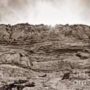 The Cliffs At Torrey Pines San Deigp Art Print