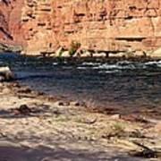 The Colorado Through Marble Canyon Art Print