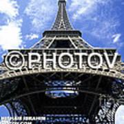 The Eiffel Tower - Paris - France Art Print