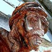 The Face Of Christ Art Print