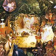 The Fairies Banquet Art Print by John Anster Fitzgerald