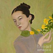The Golden Kiss Of Spring Art Print