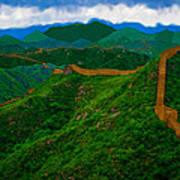 The Great Wall Of China Art Print