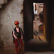 The Guard Art Print