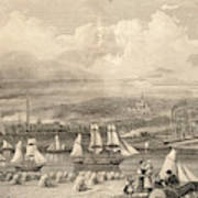 The Haematite Ironworks, Barrow Art Print