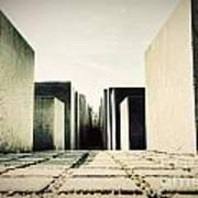 The Holocaust Memorial Berlin Germany Art Print