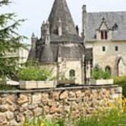 The Kitchenbuilding Of Abbey Fontevraud Art Print