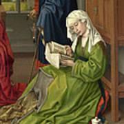 The Magdalen Reading Art Print