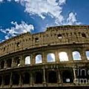 The Majestic Coliseum - Rome Art Print