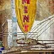 The Mint Art Print