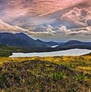 The Mourne Mountains Art Print