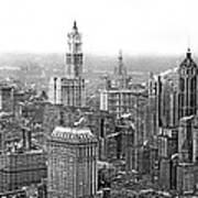 The Ny Financial District Art Print