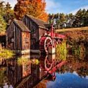 The Old Grist Mill Art Print