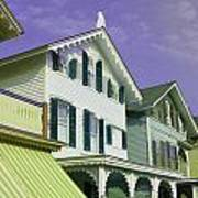 The Painted Ladies Of Cape May Art Print