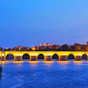The Roman Bridge In Cordoba Art Print