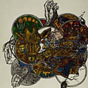 The Secret  Art Print by Nickolas Kossup